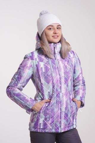 Утепленная куртка Nordski City Violet/Mint W женская