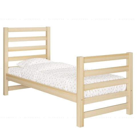 Односпальная кровать со спинками Relax - базовая комплектация