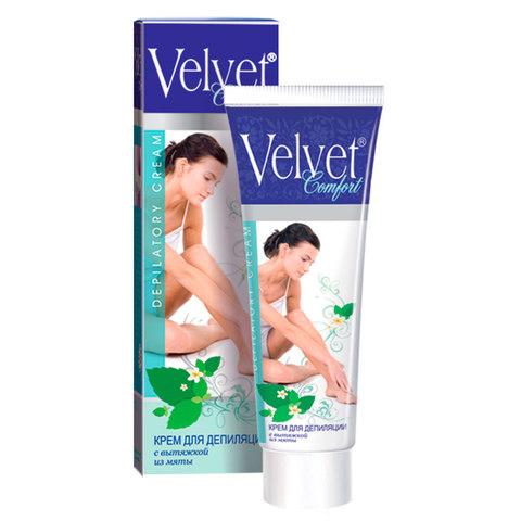 Velvet Крем для депиляции с вытяжкой из мяты