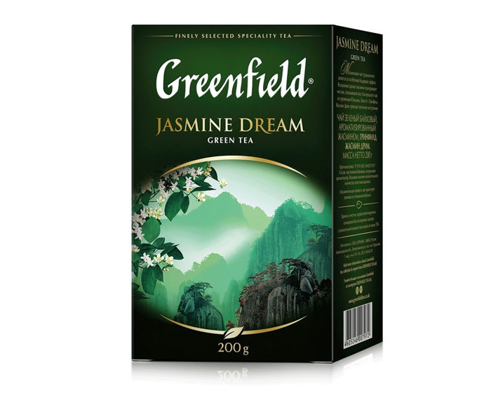 купить Чай зеленый листовой Greenfield Jasmine Dream, 200 г