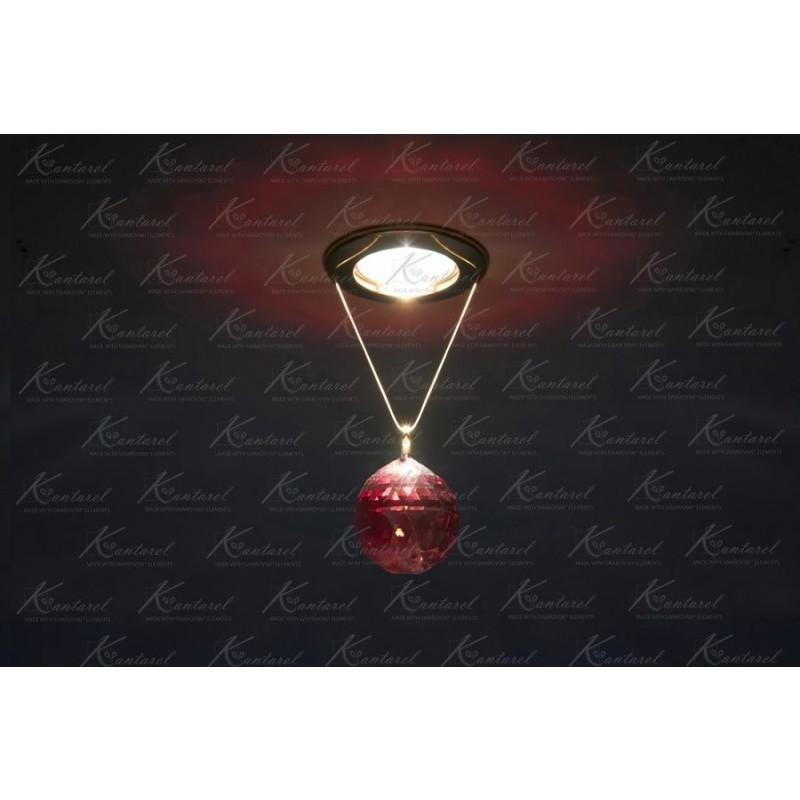 Встраиваемый светильник Kantarel PLANET CD 001.2.6 bordeaux