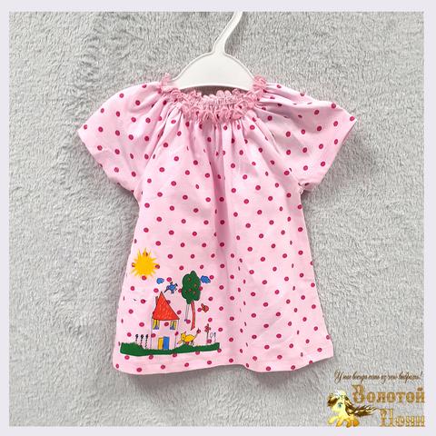 Платье-туника малышке (68-74) 201211-OF7226