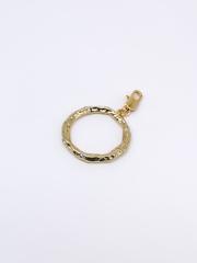 Кулон в виде кольца с фианитами  оптом и в розницу