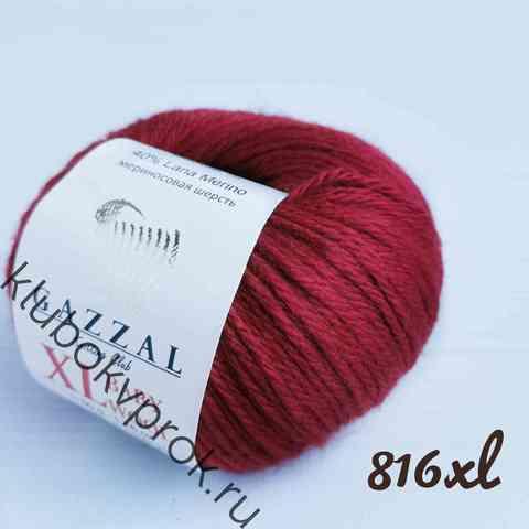 GAZZAL BABY WOOL XL 816, Бордо