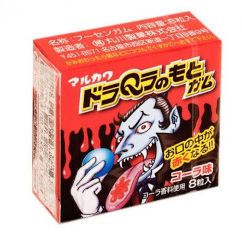 Жевательная резинка Marukawa Дракула со вкусом колы 11,1 гр