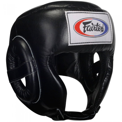 Шлем Fairtex Headguard HG6 Black&