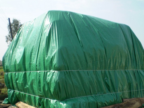 Тент тарпаулин, зеленый, 4 м х 6 м
