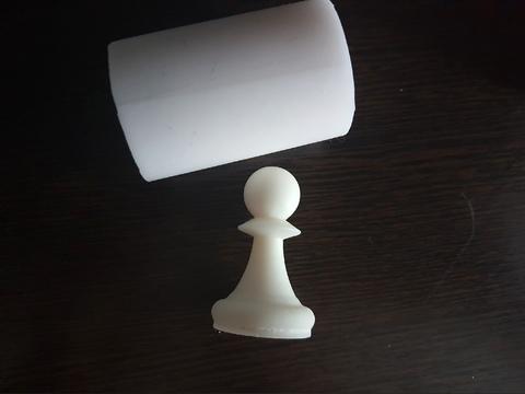 Силиконовый молд Шахматная фигура   классика № 3
