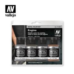 Vallejo Metal Color Set: Engine