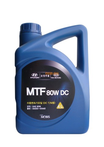 HYUNDAI MTF DC 80W Масло трансмиссионное минер. МКПП (пластик/Корея)
