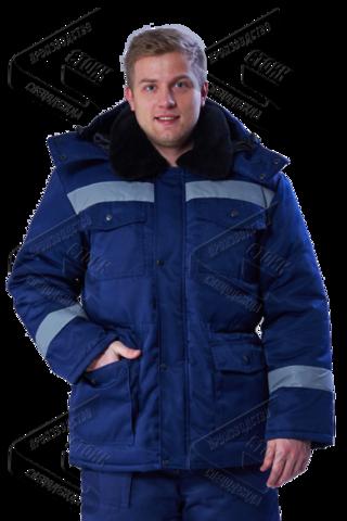 Костюм Мастер Д зимний  куртка, брюки (тк. смес. цв.т.син.)