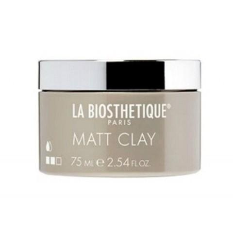 La Biosthetique Styling New: Структурирующая и моделирующая паста для волос (Matt Clay), 75мл