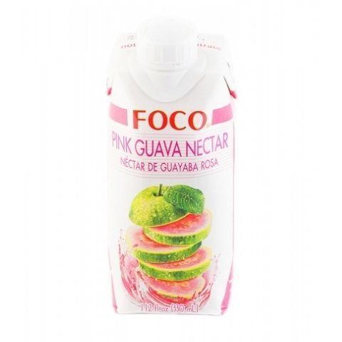 Нектар розовой гуавы FOCO, 330 мл