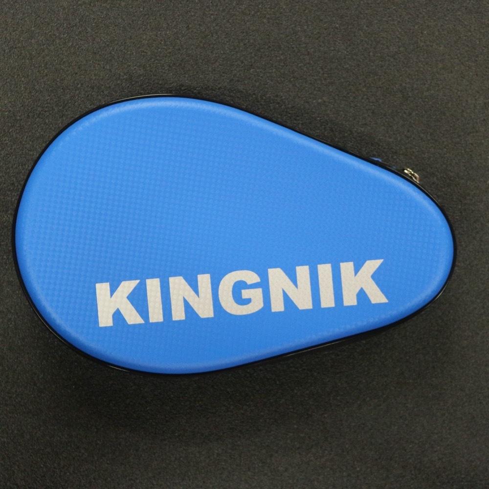 Жесткий чехол для 2-х ракеток Kingnik (синий)