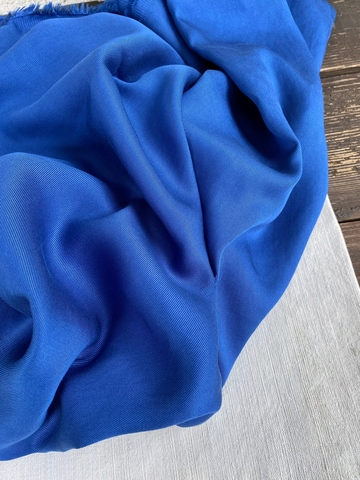 Тенсель 100%, цвет Синий кобальт