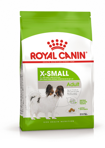 Royal Canin X-Small Adult сухой корм для собак миниатюрных размеров 1,5 кг
