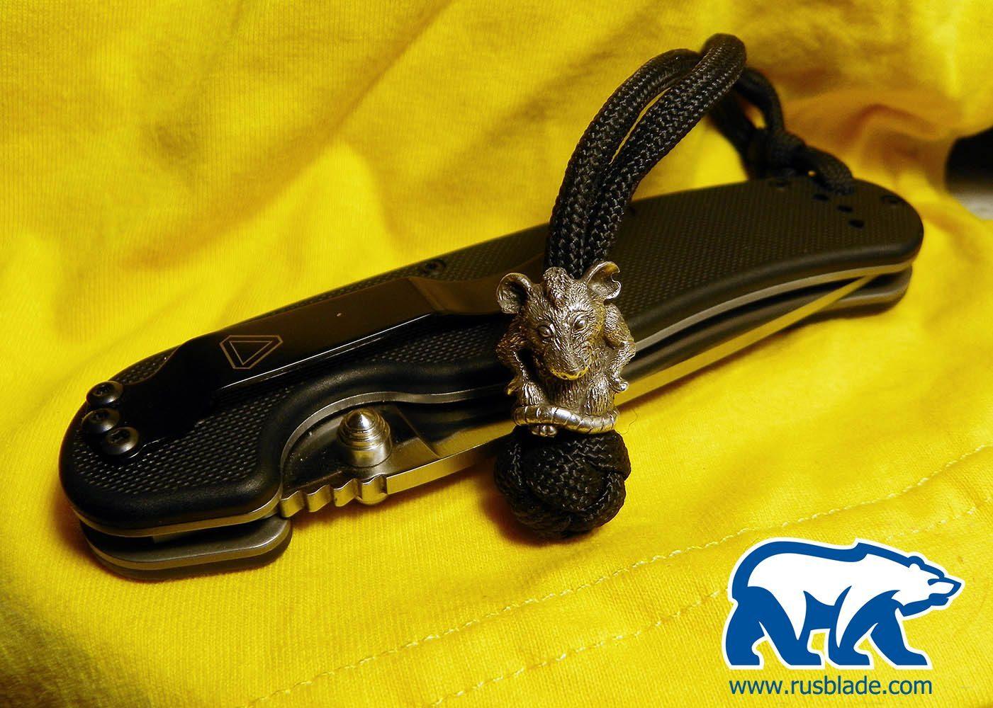"Custom Sword Knot ""Mouse"" Limited Edition - фотография"