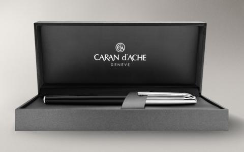 Carandache Madison - Bicolor Black SP, шариковая ручка, F
