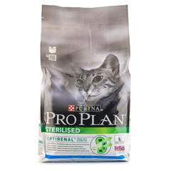 Корм сухой для стерилизованных кошек и кастрированных котов Pro Plan с кроликом 1,5кг