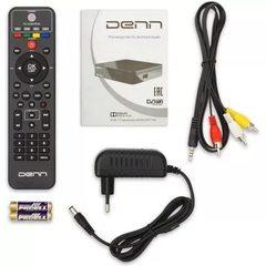 Цифровой эфирный приемник DVB-T2 DENN DDT104