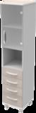 Шкаф медицинский общего назначения 1.02 тип 4 АйВуд Medical Office