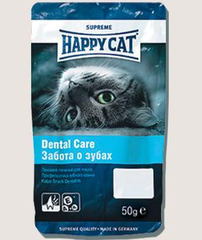 Лакомства Лакомство для кошек Happy Cat Dental Care укрепление зубного камня 2Q__-6.jpg