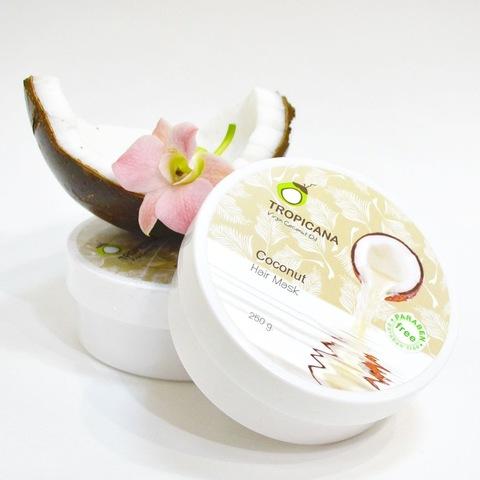 Кокосовая маска для волос Тропикана