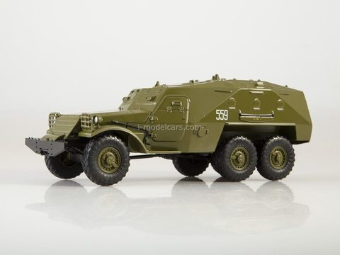 Armored personnel carrier BTR-152K Our Tanks #30 MODIMIO Collections 1:43