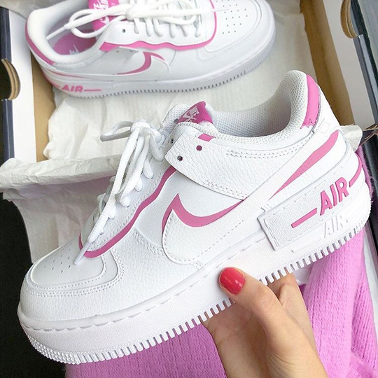 Nike Air Force 1 Shadow White/Pink