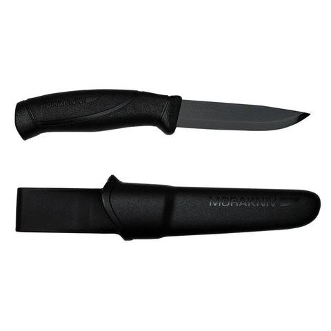 Нож Morakniv Companion BlackBlade, нержавеющая сталь, черный клинок