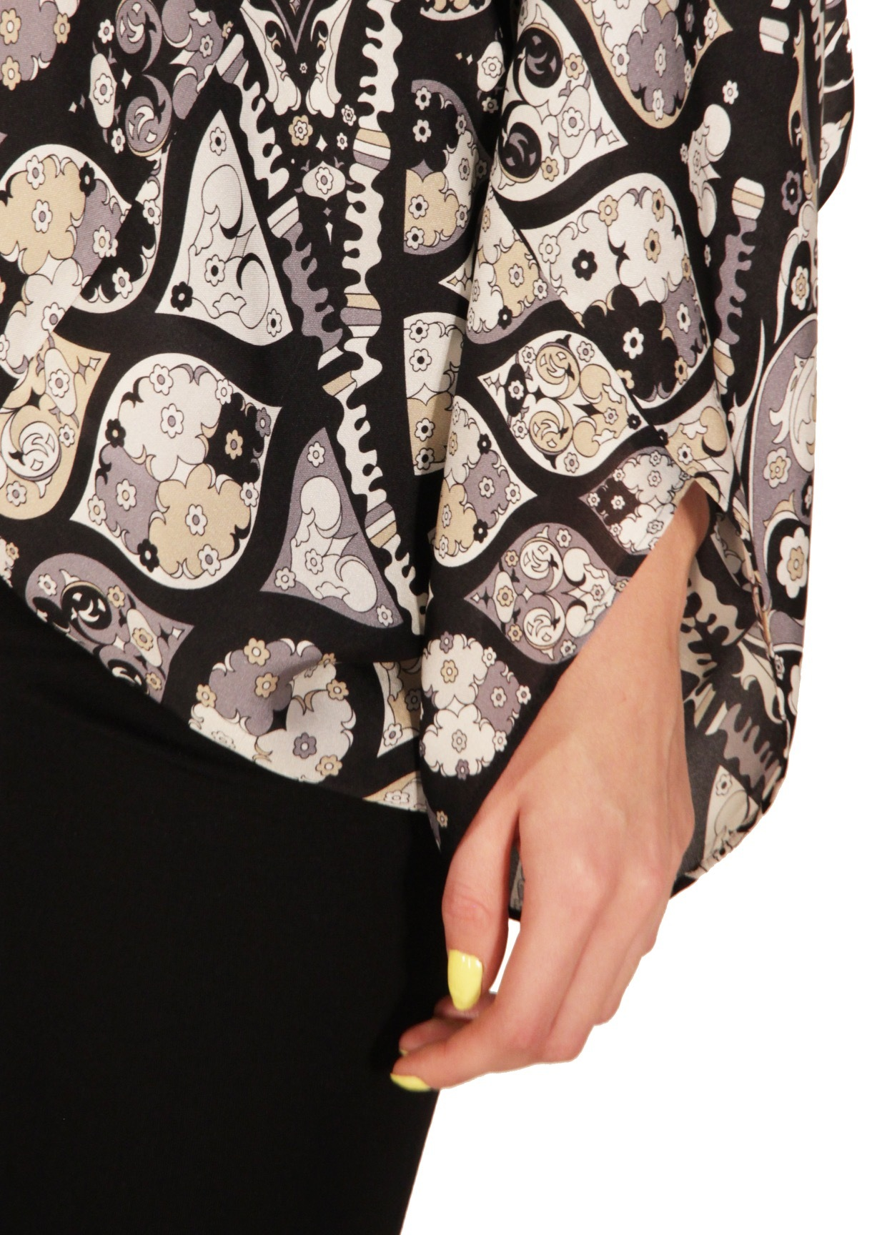 Блуза из шелка EMILIO PUCCI