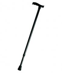 Трость опорная телескопическая с пластиковой ручкой