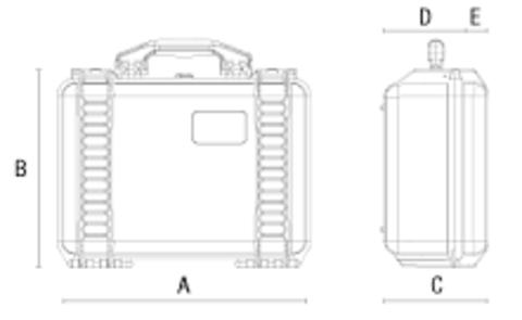 Ударопрочный кейс VG M0235 для квадрокоптера DJI MAVIC