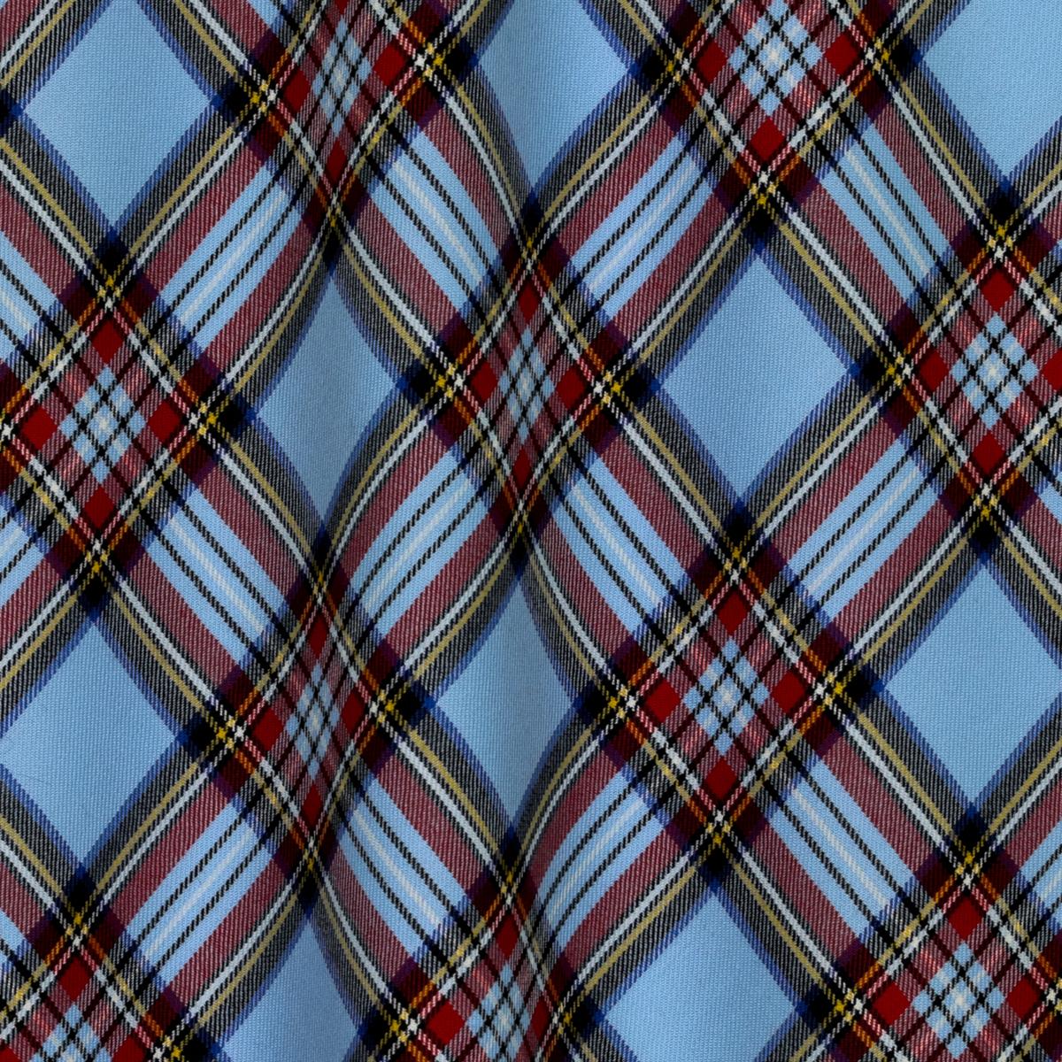 Чистошерстяной костюмный тартан