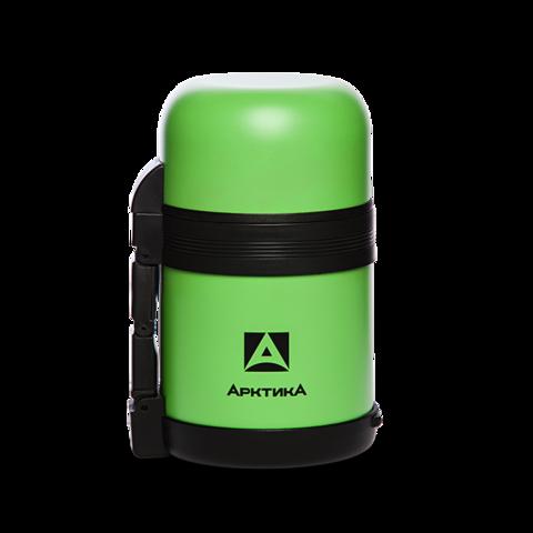 Термос универсальный (для еды и напитков) Арктика (0,6 литра) с широким горлом, зеленый