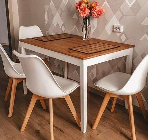 Интерьерный кухонный стул Sephi Eames / PP / Экокожа