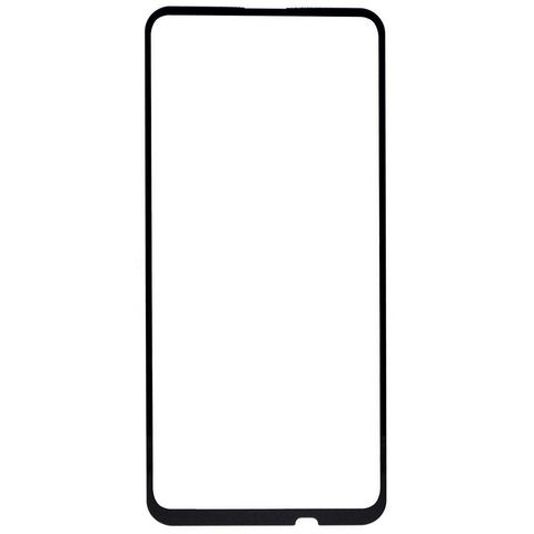 Защитное стекло 2,5D для Huawei P Smart Z и Honor 9X с черной рамкой Full Glue