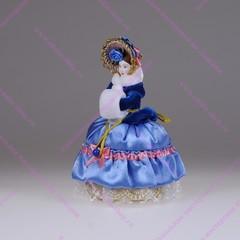 Кукла-шкатулка Барышня с муфтой