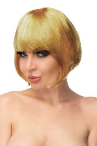 Золотистый парик
