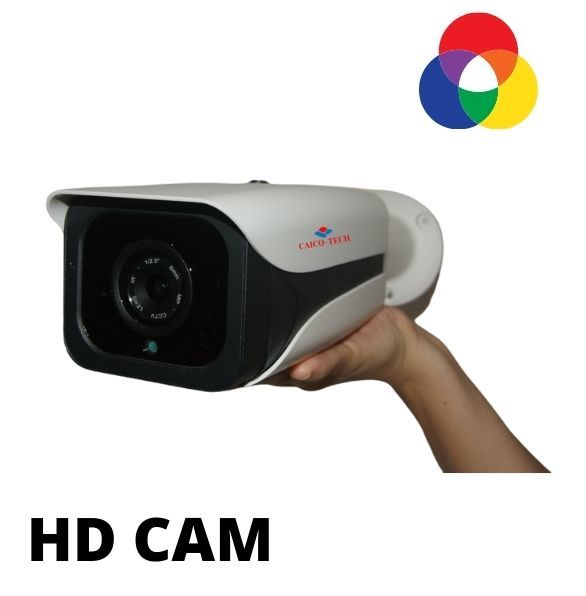 Уличная  ZOOM 2 Мп полноцветная светосильная камера наблюдения CMOS Sony STARVIS