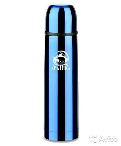 Термос Арктика (0,75л) синий