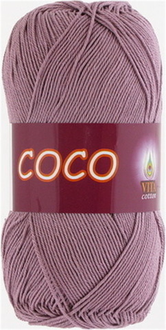 Пряжа Coco (Vita cotton) 4307 Пыльная роза