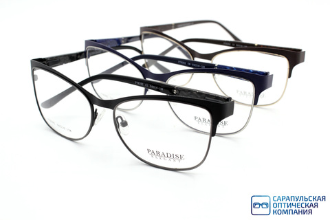 Оправа для очков PARADISE ELEGANT P76392  металл