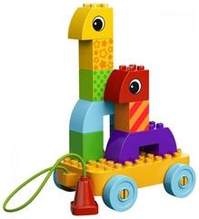 Lego Duplo Веселая каталка с кубиками (10554)
