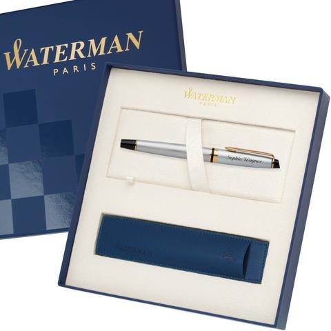 Перьевая ручка Waterman Expert 3, цвет: Stainless Steel GT, перо: F123
