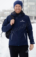 Утеплённая прогулочная лыжная куртка Nordski Urban Dark Blue мужская