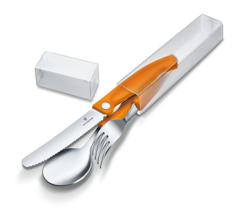 Набор Victorinox кухонный, 3 предмета, оранжевый