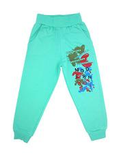 1407-6 брюки детские, зеленые