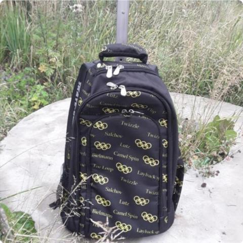 Сумка-рюкзак на колесиках «Олимпийские кольца»