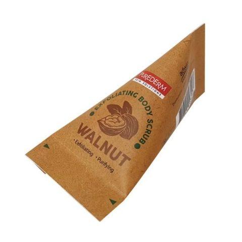 Purederm Exfoliating Body Scrub Walnut ореховый скраб для тела в пирамидках